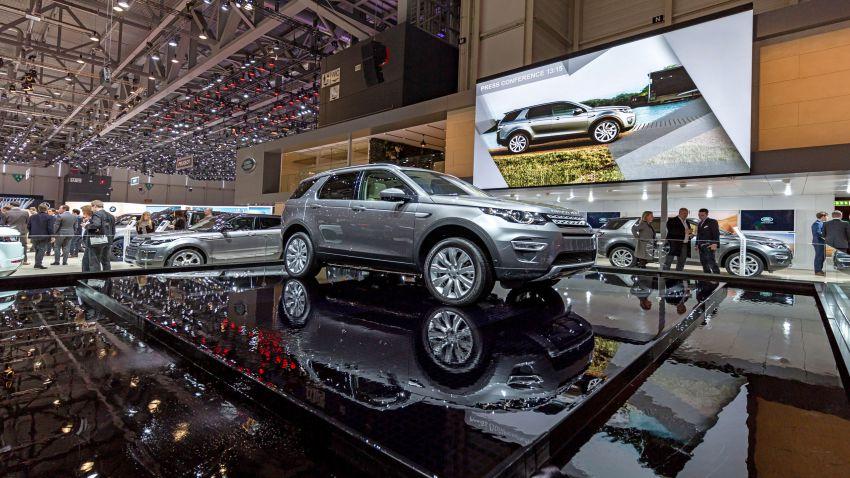 Automobilsalon Genf 2016 CT Land Rover; Copyright ThomasRohwedder Germany