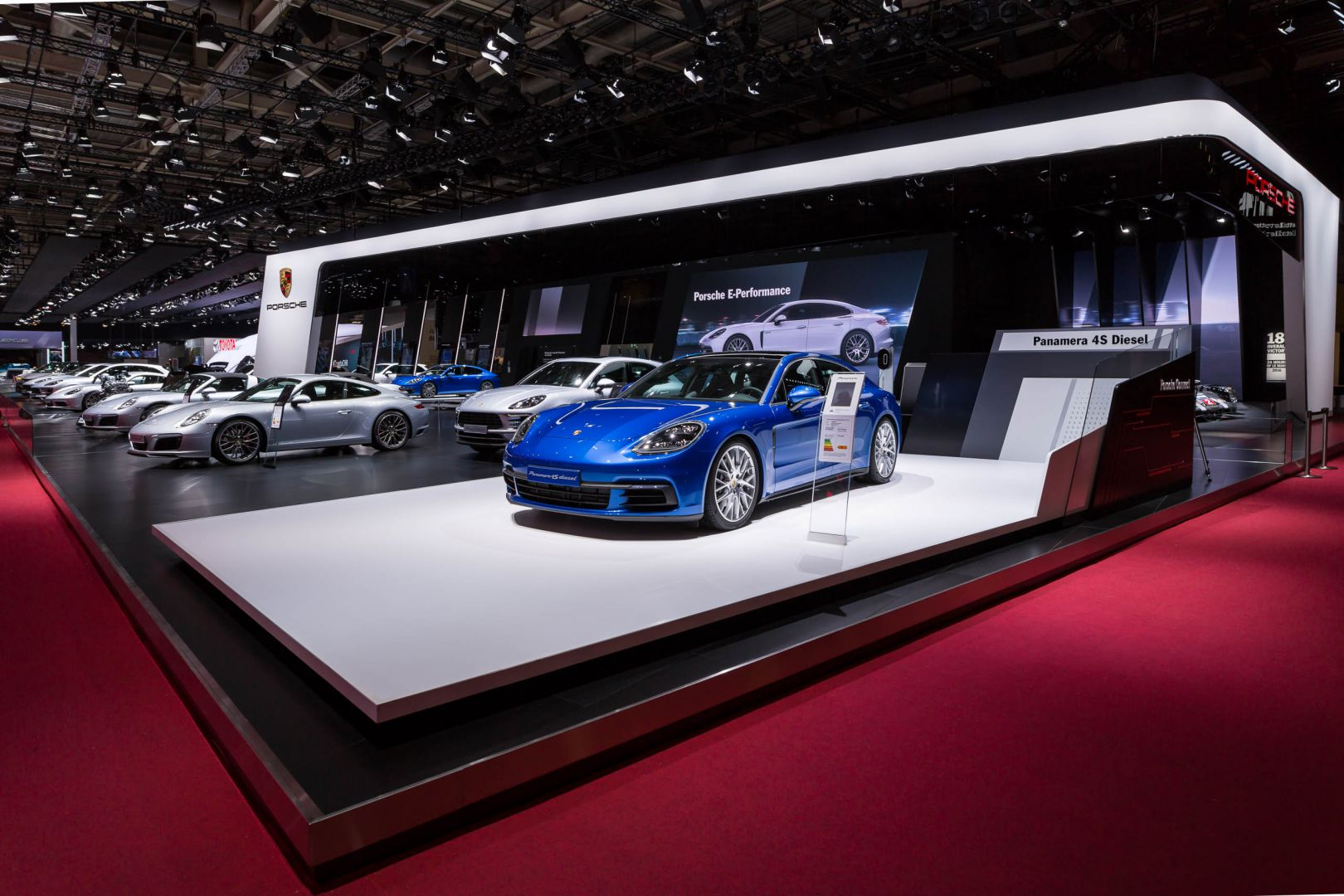 Paris Motor Show - Mondial de l'Automobile 2016 - Paris • Porsche • ©Foto: aadhoc-media • Thomas Rohwedder